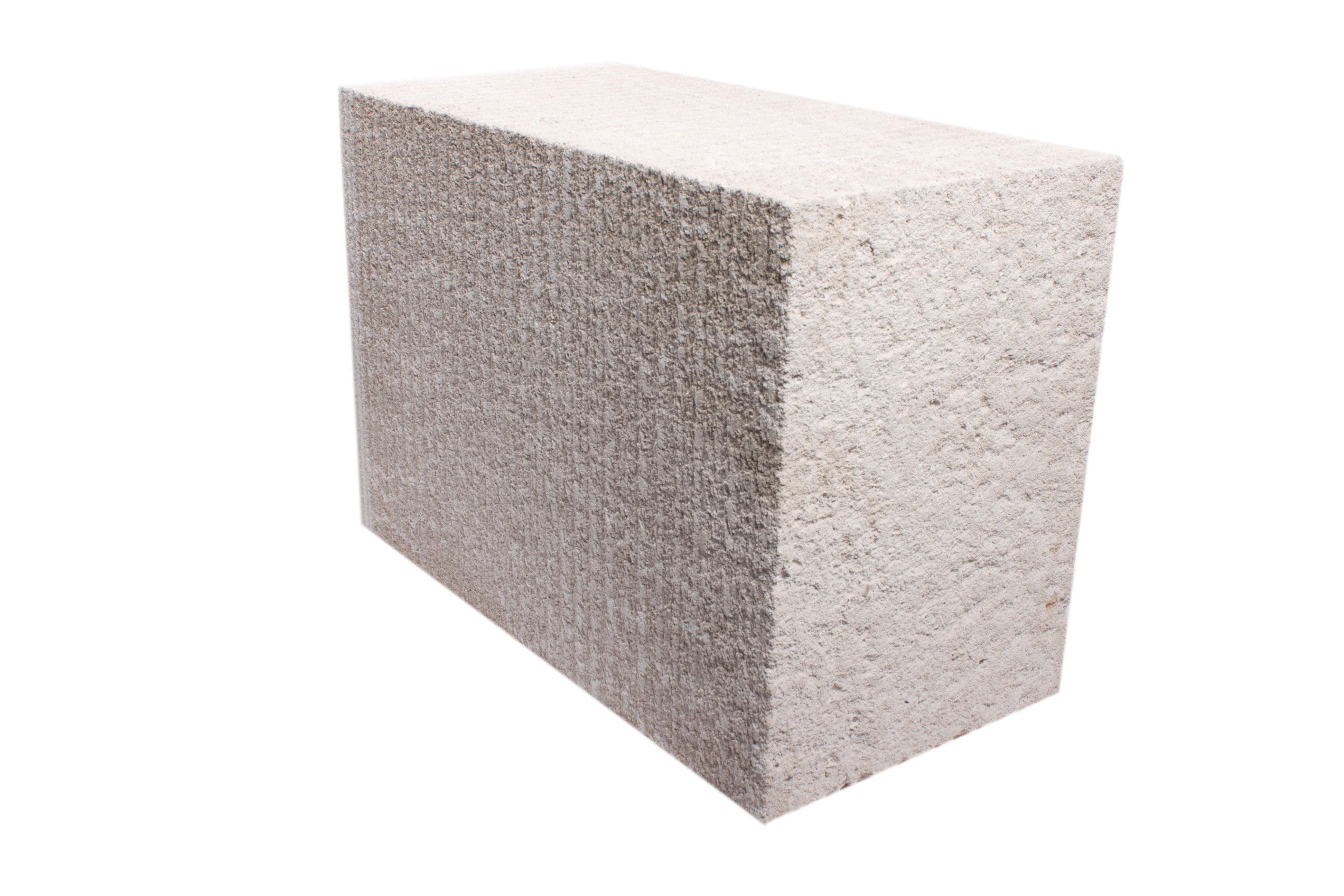 Блок из ячеистого бетона автоклавного твердения, 2 категории (для кладки на раствор) производства ОАО Могилевский КСИ РБ